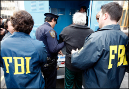 FBI Agents Help Arrest Members of Organized Crime (Reuters)