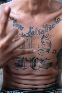 MS-13 Tatoos Mara Salvatrucha