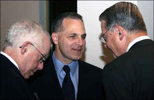 AG Mukasey, and former directors Freeh and Webster