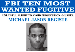 Michael Registe wanted poster
