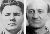 "Charles ""Pretty Boy"" Floyd (left) and Frank ""Jelly"" Nash"