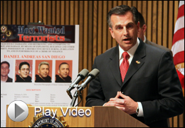 Counterterrorism Division Assistant Director Michael Heimbach with Play Video Button