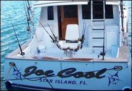 The 47-foot charter fishing boat Joe Cool