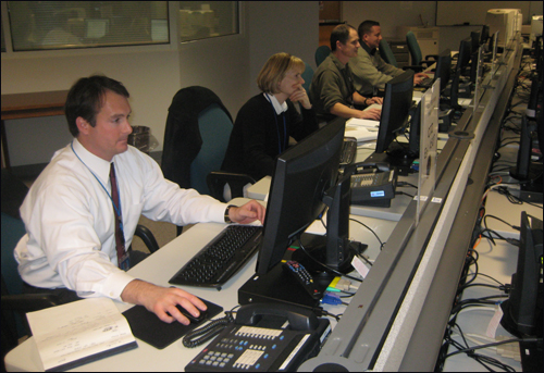 The FBI also worked shoulder-to-shoulder with several law enforcement partners to staff our strategic command center, or SIOC, at FBI Headquarters during the Inauguration.
