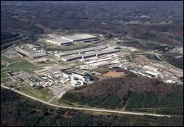 The East Tennessee Technology Park. Courtesy of the Department of Energy.