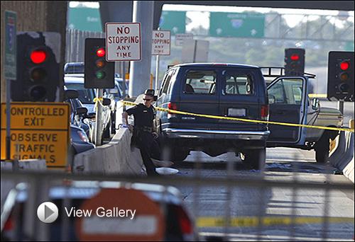 Shooting investigation at border