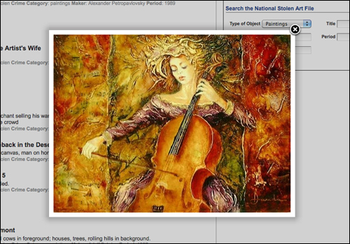 Largo: Image of woman playing a cello (screen shot)