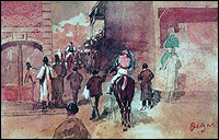 Stolen Degas La Sortie de Pesage