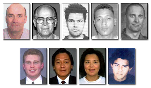 Fugitives sought by Interpol