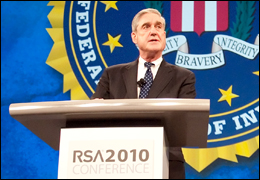 Director Mueller at RSA conference