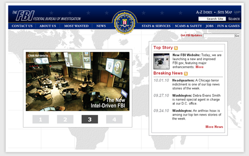 FBI Homepage